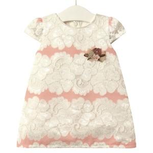 Платье для девочки Элегантность, розовый Flexi