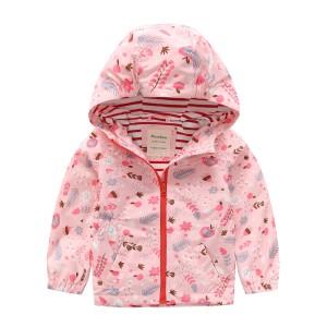 Куртка для девочки Осенний сад Meanbear