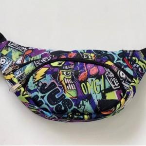 Бананка поясная сумка детская сумка-бананка молодежная