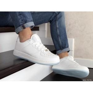 Мужские кроссовки Nike Air Force,белые