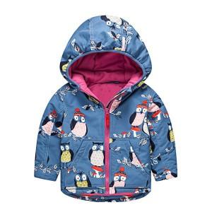 Куртка для девочки демисезонная Сова Meanbear