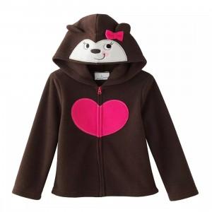 Кофта с капюшоном для девочки Медведица Jumping Beans