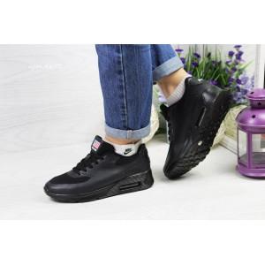 Подростковые кроссовки NIKE AIR MAX Hyperfuse,черные