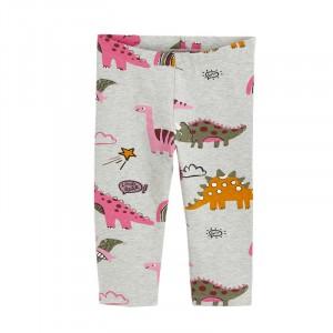 Легінси для дівчинки Pink dinosaurs Jumping Meters