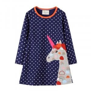 Платье для девочки Rainbow Unicorn Jumping Meters