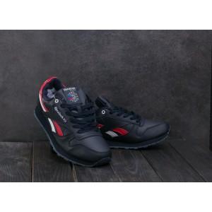 Мужские кроссовки искусственная кожа зимние синие Aoka МА 5053 -5