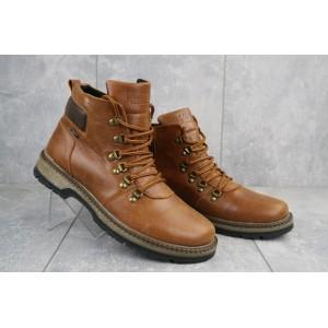Ботинки мужские Yuves Obr 4 рыжий (натуральная кожа, зима)
