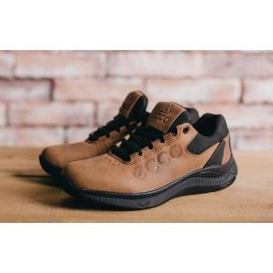 Подростковые кроссовки Ecco ,коричневые