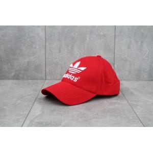 Кепка бейсболка Adidas (красный)