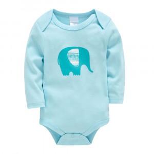 Боди детский Слон, голубой Berni