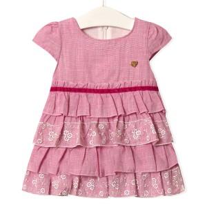 Платье для девочки Золушка, розовый Flexi