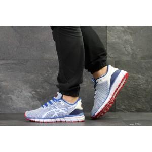 Мужские кроссовки Asics Gel-Quantum 360,сетка,белые с синим