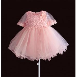 Платье для девочки Pearl Nice, розовый Zoe Flower