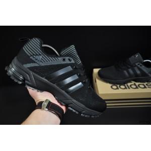 кроссовки Adidas Fast Marathon арт 20715 (мужские, черные, адидас)