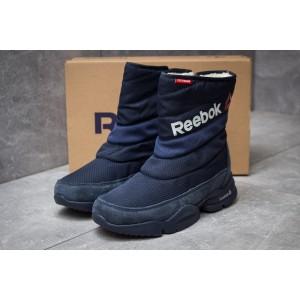 Зимние женские ботинки 30273, Reebok Keep warm, темно-синие [ 38 ] р.(38-24,0см)