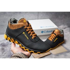 Зимние мужские ботинки 30692, Columbia Track II, черные, [ 40 ] р. 41-27,0см.