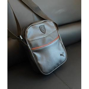 Барсетка Puma Ferrari leather black