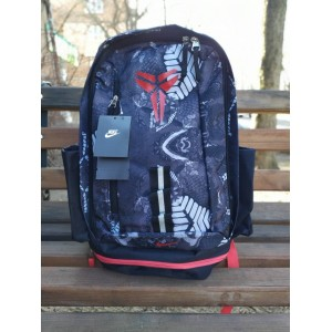 Баскетбольный рюкзак с отделом для мяча Nike Kobe Black/Red