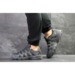 Мужские кроссовки Asics,замшевые,серые 44,46р