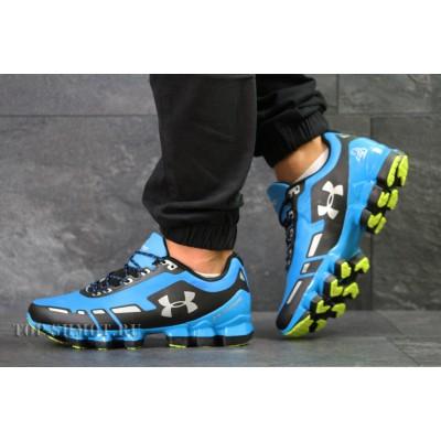Кроссовки Under Armour Scorpio,голубые с черным 44р