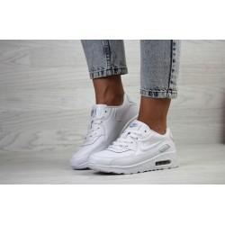 Женские белые летние кроссовки Nike air max 90