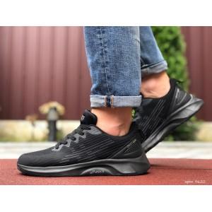 Мужские летние кроссовки Asics,сетка,черные