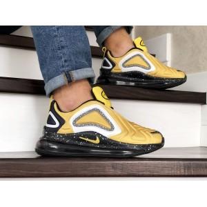 Мужские кроссовки Nike air max 720,желтые