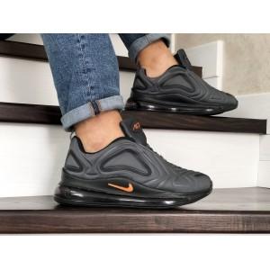 Мужские кроссовки Nike air max 720,серые с черным