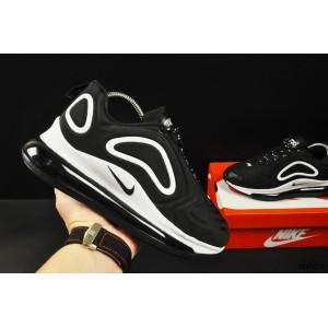 кроссовки Nike Air Max 720 арт 20682 (черные, найк)