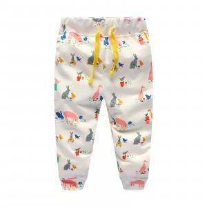 Штаны для девочки Животные Jumping Meters