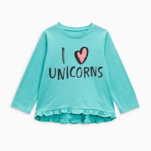 Кофта для девочки I love unicorns Jumping Beans