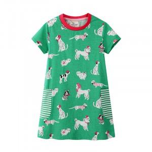 Сукня для дівчинки Собачки Jumping Meters
