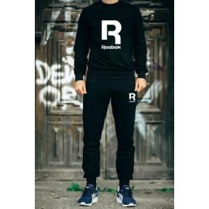 """Мужской чёрный костюм Reebok R """""""" В стиле Reebok """"""""1056"""
