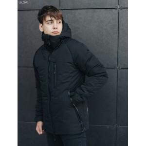 Зимняя куртка Staff mil black LBL0071