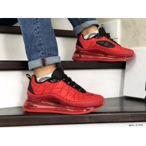Мужские термо кроссовки Nike air max 720,красные