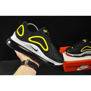 кроссовки Nike Air Max 720 арт 20683 (черные, найк)