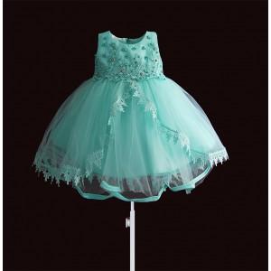 Платье для девочки Бирюзовая жемчужина Zoe Flower