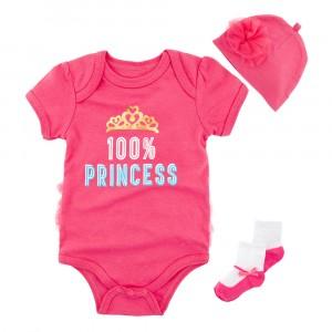 Комплект для девочки 3 в 1 Маленькая принцесса Berni