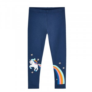 Леггинсы для девочки Flying unicorn Jumping Meters