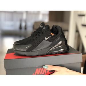 Женские кроссовки Nike Air Max 270,сетка,черные