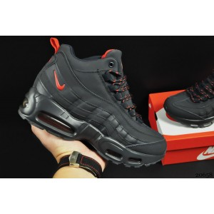 ботинки Nike Air Max 95 Sneakerboot арт 20658 (зимние, найк, синий)