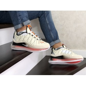 Мужские термо кроссовки Nike air max 720,бежевые