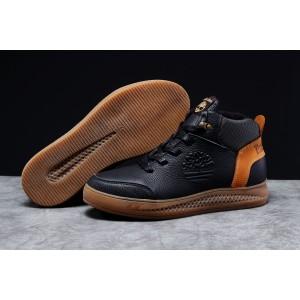 Зимние мужские кроссовки 31383, Timbershoes Sensorflex (на меху), черные, [ 40 ] р. 40-26,4см. 42