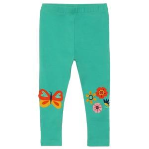 Леггинсы для девочки Цветы и бабочка Jumping Meters