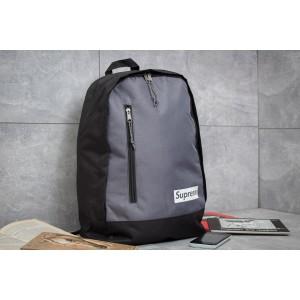 Рюкзак унисекс Supreme, серые (90132) размеры в наличии ► [ 1 ]
