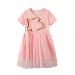 Плаття для дівчинки Pink star Jumping Meters