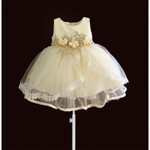 Платье для девочки Бежевая жемчужина Zoe Flower
