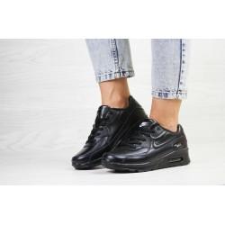 Демисезонные кроссовки Nike air max 90,черные