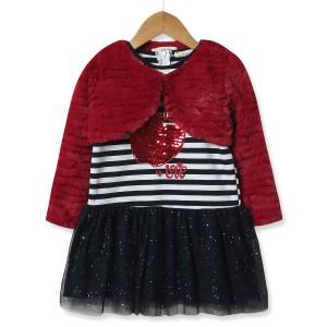 Комплект для девочки 2 в 1 All need you is love, красный Baby Rose