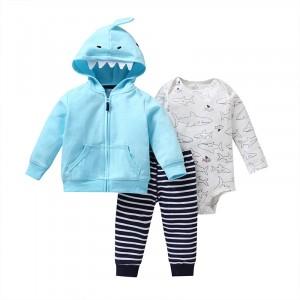 Комплект для мальчика 3 в 1 Маленькая акула Berni